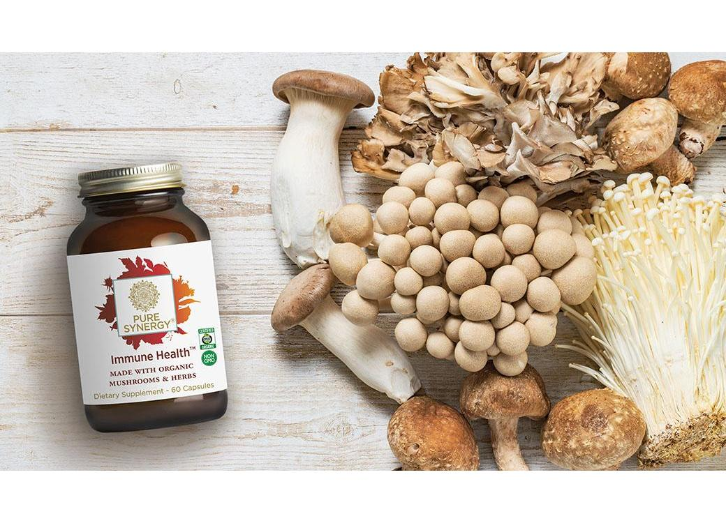 Mighty Mushrooms — Edible Immune Support