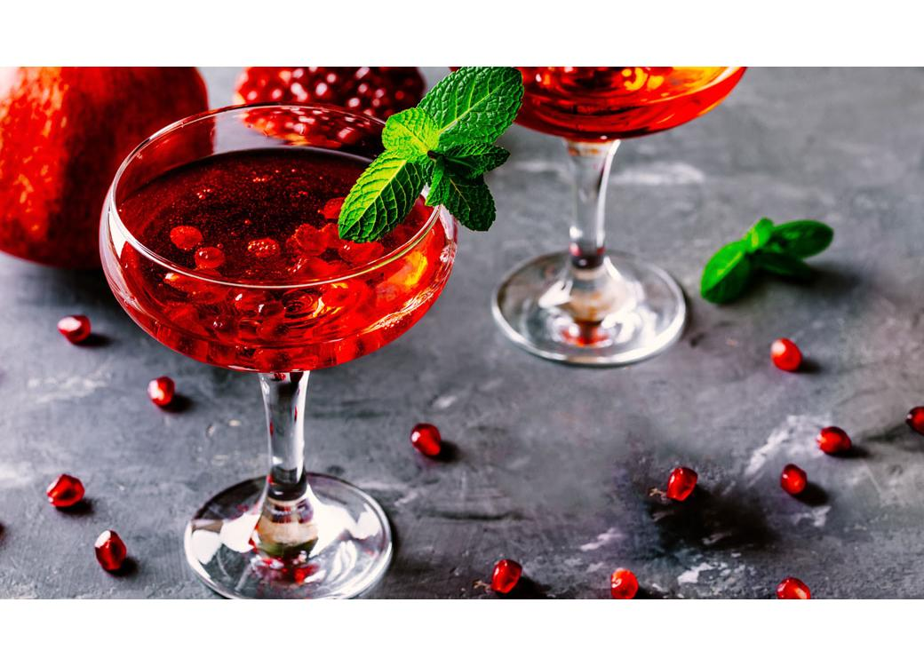 Delicious Berry Mocktail